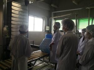 食品製造施設見学