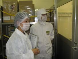 食品施設監視業務の現場体験